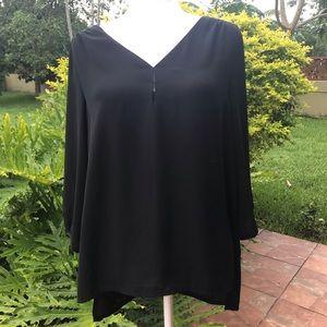 H&M black blouse